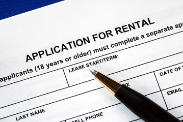 rental application checklist